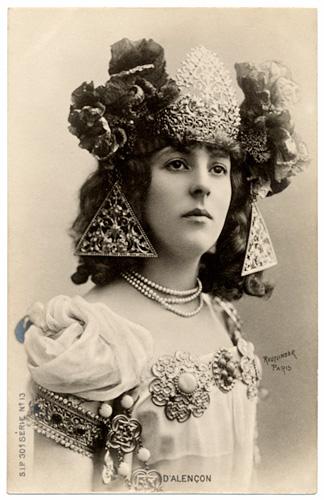 boudoir cards belle epoque postcards emilienne dalencon