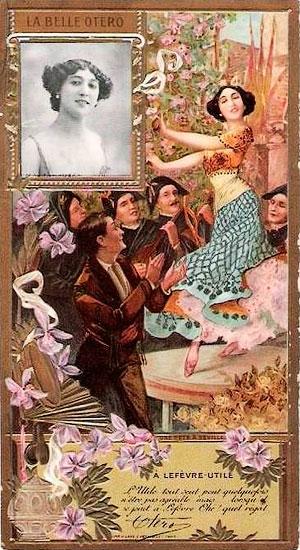 Boudoir Cards Belle Epoque Postcards La Belle Otero
